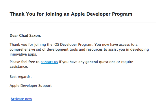 AppleDeveloperEmail